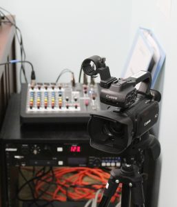 Video and Audio Equipment available for check out at SCPL